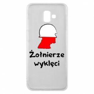 Phone case for Samsung J6 Plus 2018 Cursed soldiers - flag of Poland - PrintSalon