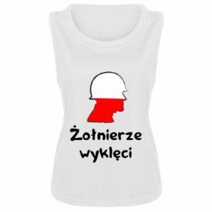 Women's t-shirt Cursed soldiers - flag of Poland - PrintSalon