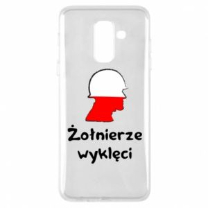 Phone case for Samsung A6+ 2018 Cursed soldiers - flag of Poland - PrintSalon