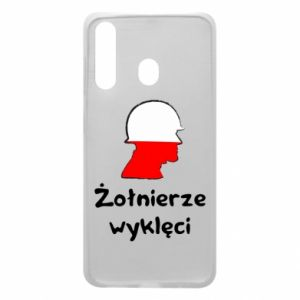 Phone case for Samsung A60 Cursed soldiers - flag of Poland - PrintSalon