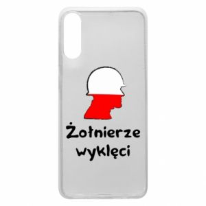 Phone case for Samsung A70 Cursed soldiers - flag of Poland - PrintSalon
