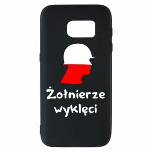 Phone case for Samsung S7 Cursed soldiers - flag of Poland - PrintSalon