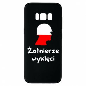 Phone case for Samsung S8 Cursed soldiers - flag of Poland - PrintSalon