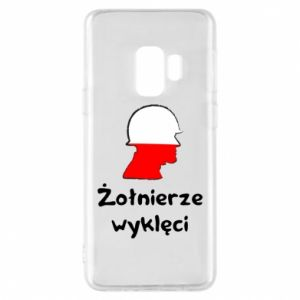 Phone case for Samsung S9 Cursed soldiers - flag of Poland - PrintSalon