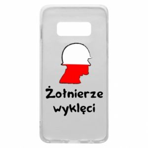 Phone case for Samsung S10e Cursed soldiers - flag of Poland - PrintSalon