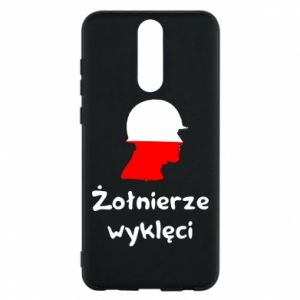Phone case for Huawei Mate 10 Lite Cursed soldiers - flag of Poland - PrintSalon
