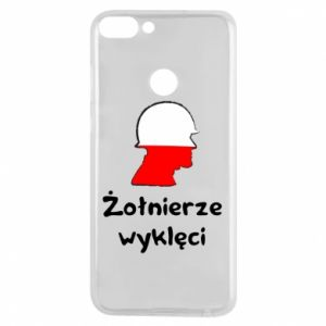 Phone case for Huawei P Smart Cursed soldiers - flag of Poland - PrintSalon