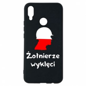 Phone case for Huawei P Smart Plus Cursed soldiers - flag of Poland - PrintSalon
