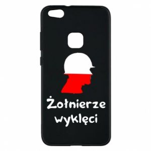 Phone case for Huawei P10 Lite Cursed soldiers - flag of Poland - PrintSalon