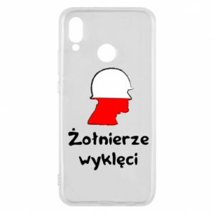 Phone case for Huawei P20 Lite Cursed soldiers - flag of Poland - PrintSalon