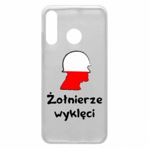 Etui na Huawei P30 Lite Żołnierze wyklęci - flaga Polski