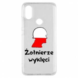 Phone case for Xiaomi Mi A2 Cursed soldiers - flag of Poland - PrintSalon