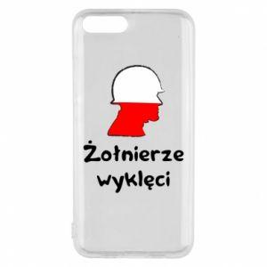 Phone case for Xiaomi Mi6 Cursed soldiers - flag of Poland - PrintSalon