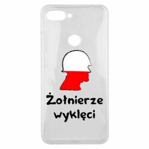 Phone case for Xiaomi Mi8 Lite Cursed soldiers - flag of Poland - PrintSalon
