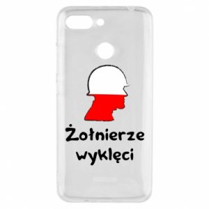 Phone case for Xiaomi Redmi 6 Cursed soldiers - flag of Poland - PrintSalon