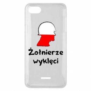 Phone case for Xiaomi Redmi 6A Cursed soldiers - flag of Poland - PrintSalon