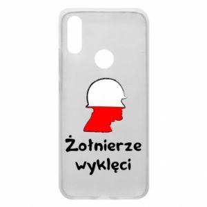 Phone case for Xiaomi Redmi 7 Cursed soldiers - flag of Poland - PrintSalon