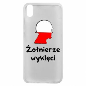 Phone case for Xiaomi Redmi 7A Cursed soldiers - flag of Poland - PrintSalon