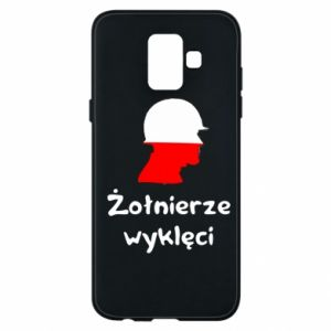 Phone case for Samsung A6 2018 Cursed soldiers - flag of Poland - PrintSalon