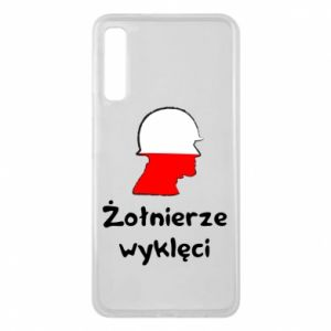 Phone case for Samsung A7 2018 Cursed soldiers - flag of Poland - PrintSalon