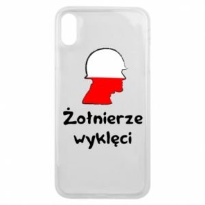 Etui na iPhone Xs Max Żołnierze wyklęci - flaga Polski