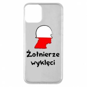 Etui na iPhone 11 Żołnierze wyklęci - flaga Polski