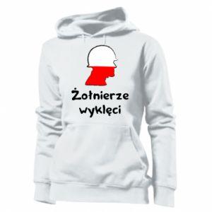 Women's hoodies Cursed soldiers - flag of Poland - PrintSalon