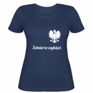Women's t-shirt Poland. Cursed soldiers