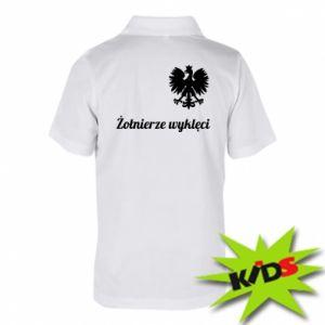 Dziecięca koszulka polo Polska. Żołnierze wyklęci