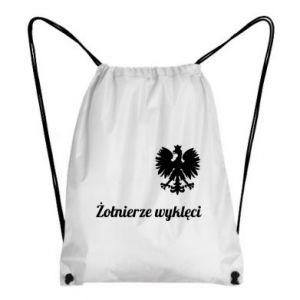 Plecak-worek Polska. Żołnierze wyklęci