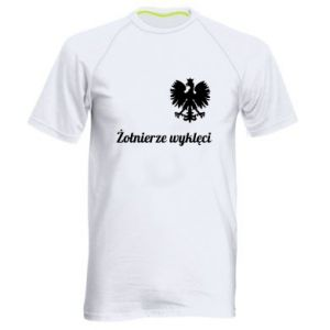 Męska koszulka sportowa Polska. Żołnierze wyklęci