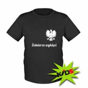 Dziecięcy T-shirt Polska. Żołnierze wyklęci