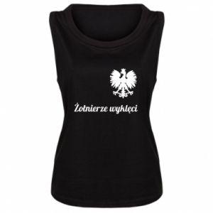 Damska koszulka bez rękawów Polska. Żołnierze wyklęci