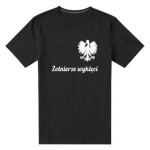 Męska premium koszulka Polska. Żołnierze wyklęci