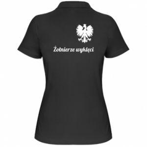 Damska koszulka polo Polska. Żołnierze wyklęci