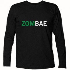 Long Sleeve T-shirt Zombae - PrintSalon