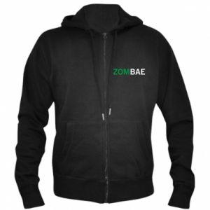 Men's zip up hoodie Zombae - PrintSalon