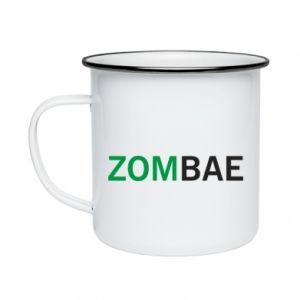 Enameled mug Zombae - PrintSalon