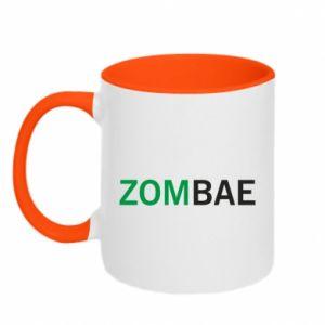 Two-toned mug Zombae - PrintSalon