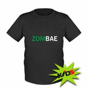 Kids T-shirt Zombae