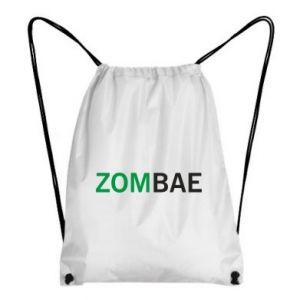 Backpack-bag Zombae - PrintSalon