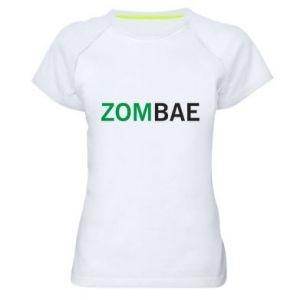Women's sports t-shirt Zombae - PrintSalon