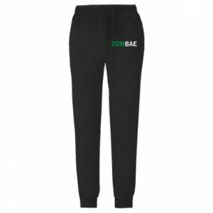 Męskie spodnie lekkie Zombae - PrintSalon
