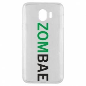 Phone case for Samsung J4 Zombae - PrintSalon