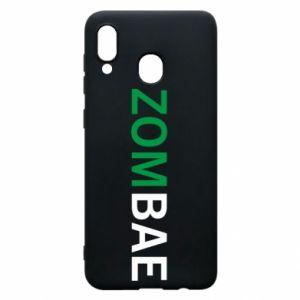 Phone case for Samsung A20 Zombae - PrintSalon