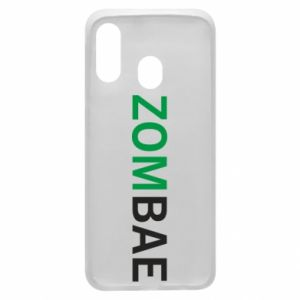 Phone case for Samsung A40 Zombae - PrintSalon