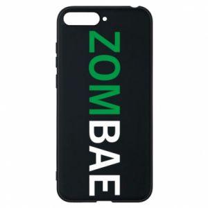 Phone case for Huawei Y6 2018 Zombae - PrintSalon