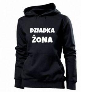 Women's hoodies Grandfather's wife - PrintSalon