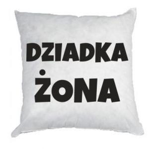 Pillow Grandfather's wife - PrintSalon