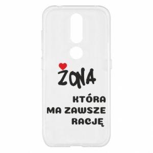 Etui na Nokia 4.2 Żona, która ma zawsze rację